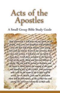 Acts of the Apostles, a Small Group Bible Study Guide
