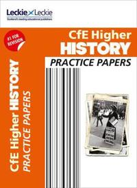 CfE Higher History Practice Papers for SQA Exams