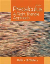 Precalculus: A Right Triangle Approach Plus New Mymathlab with Pearson Etext -- Access Card Package