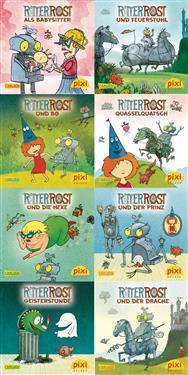 Pixi-Bundle 8er Serie 222  Ritter Rost -  - böcker (9783551044198)     Bokhandel