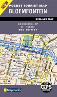Pocket Tourist Map Bloemfontein