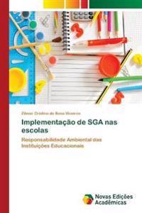 Implementacao de Sga NAS Escolas