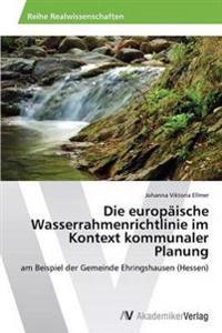 Die Europaische Wasserrahmenrichtlinie Im Kontext Kommunaler Planung