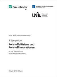 3. Symposium Rohstoffeffizienz und Rohstoffinnovationen