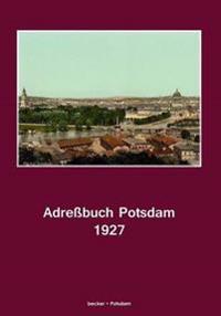 Adressbuch Potsdam Fur 1927