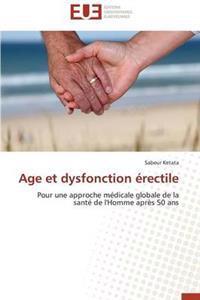 Age Et Dysfonction Erectile