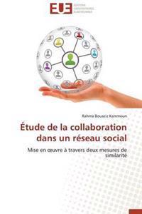 Etude de La Collaboration Dans Un Reseau Social
