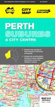 Perth Suburbs and City Centre Map 618