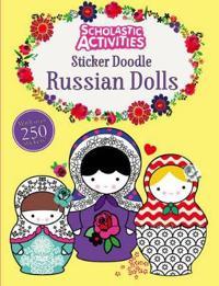 Sticker Doodle Russian Dolls