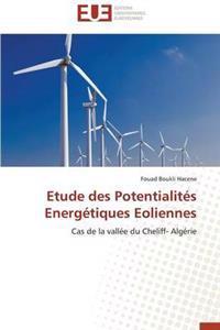 Etude Des Potentialites Energetiques Eoliennes