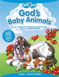 God's Baby Animals Story + Activity Book