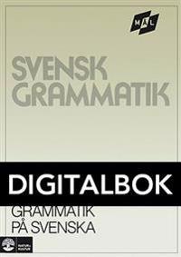 Mål Svensk grammatik på svenska Digital u ljud
