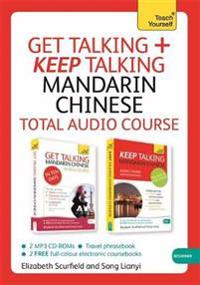 Teach Yourself Get Talking + Keep Talking Mandarin Chinese Total Audio Course