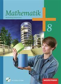 Mathematik 8. Schülerband mit CD-ROM. Regionale Schulen. Mecklenburg-Vorpommern