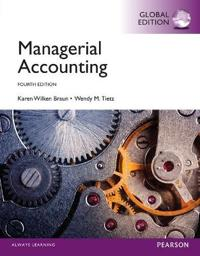 Managerial Accounting with MyAccountingLab, Global Edition