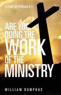 Are You Doing the Work of the Ministry