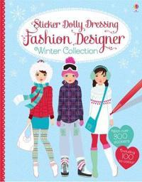 Sticker Dolly Dressing Fashion Designer Winter Collection