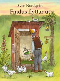 Findus flyttar ut : med ljudbok