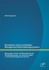 Konzeption Eines Lernfahigen Management-Unterstutzungssystems