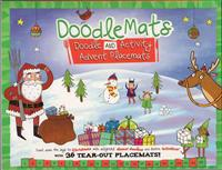 Doodle and Activity Advent Placemats
