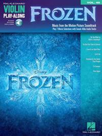 Frozen: Violin Play-Along Volume 48