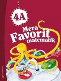 Mera Favorit matematik 4A Elevpaket (Bok+ digital produkt)