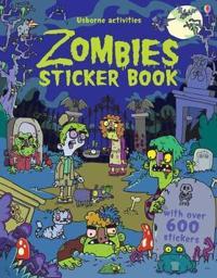 Zombies Sticker Book