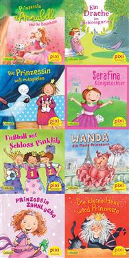 Pixi-Serie Nr. 224: Pixis Prinzessinnen-Parade. 64 Exemplare