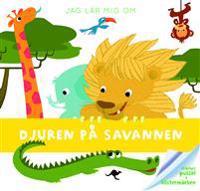 Jag lär mig om djuren på savannen