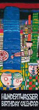Hundertwasser Birthday Calendar