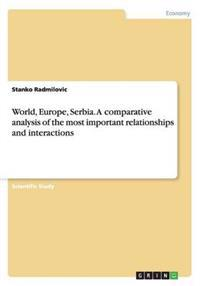 World, Europe, Serbia. a Comparative Analysis of the Most Important Relationships and Interactions