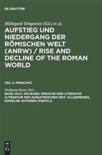 Sprache Und Literatur (Literatur Der Augusteischen Zeit
