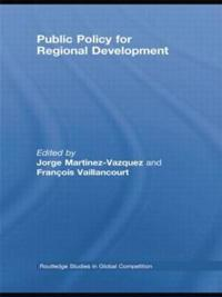 Public Policy for Regional Development