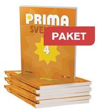 Prima Svenska Paket 20 Elevbok 4+lärarwebb 4 Individlic 12 m