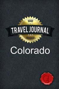 Travel Journal Colorado