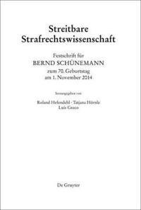 Festschrift Fur Bernd Schunemann Zum 70 - Geburtstag Am 1 - November 2014