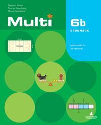 Multi 6b, 2. utgave - Bjørnar Alseth, Gunnar Nordberg, Mona Røsseland | Ridgeroadrun.org
