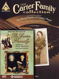 The Carter Family Bundle Pack: Includes the Carter Family Collection (Book) and Guitar Styles of the Carter Family (DVD) [With DVD]