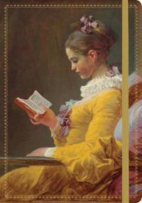 Fragonard Young Girl Reading Gilded Journal