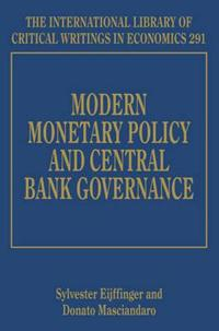 Modern Monetary Policy and Central Bank Governance