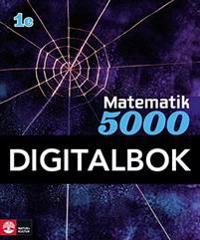 Matematik 5000 Kurs 1c Blå Lärobok Interaktiv
