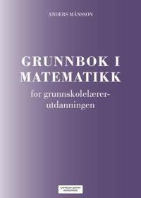 Grunnbok i matematikk - Anders Månsson pdf epub