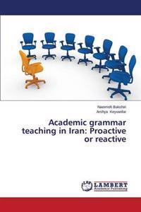 Academic Grammar Teaching in Iran