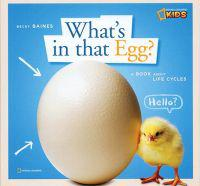 What's in That Egg?: A Book about Life Cycles