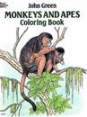 Monkeys and Apes Coloring Book