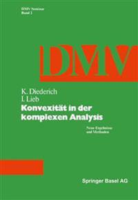 Konvexität in Der Komplexen Analysis