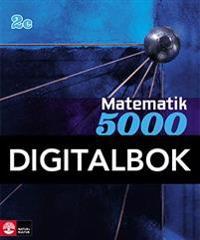 Matematik 5000 Kurs 2c Blå Lärobok Interaktiv