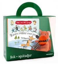 Räven raskar över isen - Presentförpackning : Bok + mjukisdjur