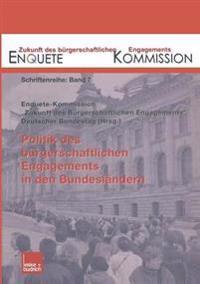 Politik Des Bürgerschaftlichen Engagements in Den Bundesländern