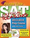Private Tutor - Your Complete SAT Critical Reading Prep Course